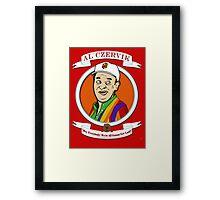 Caddyshack - Al Czervik Framed Print