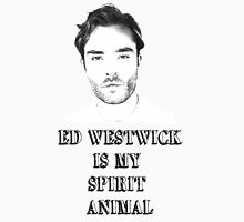 ED WESTWICK IS MY SPIRIT ANIMAL Women's Fitted Scoop T-Shirt