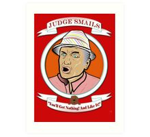 Caddyshack - Judge Smails Art Print