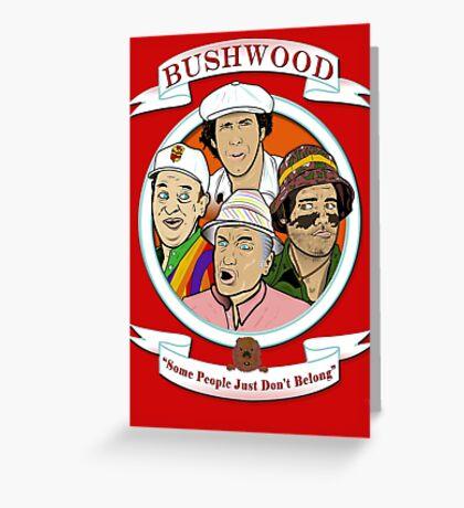 Caddyshack - Bushwood Greeting Card