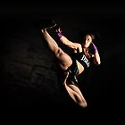 Flying Side Kick by Matt Bottos