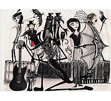 Their Voices Rang out in Pessimistic Melody Photographic Print