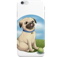 Pug Playtime iPhone Case/Skin