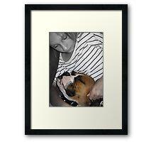 Alex and Rocky L.O.V.E Framed Print