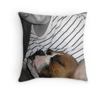 Alex and Rocky L.O.V.E Throw Pillow