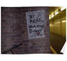 No Fear Poster