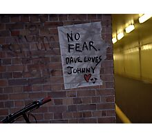 No Fear Photographic Print