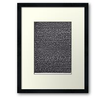 """""""Dictionary 2"""" (air-cooled-anticipate) Framed Print"""