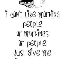 Caffeine and books by Carol Oliveira