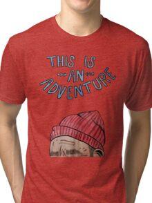 The Life Aquatic Tri-blend T-Shirt