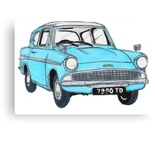 The Weasley Mobile. Canvas Print