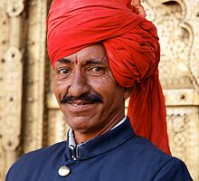 Palace Attendant, Jaipur by nekineko