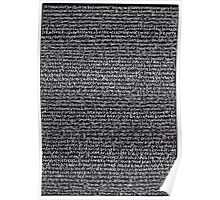 """""""Dictionary 8"""" (book value-brown rice) Poster"""