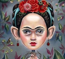 Frida in Thorns by Terri Woodward