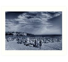 Life at Bondi Beach Art Print