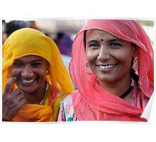Shoppers, Jodhpur Poster