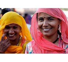 Shoppers, Jodhpur Photographic Print