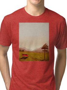 Vintage Holiday Tri-blend T-Shirt