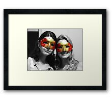 A Cor de Carnaval Framed Print