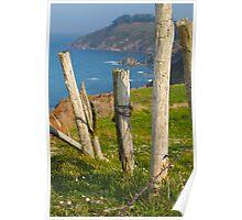 Tereñes cliffs Poster