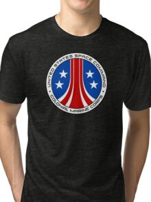 United States Colonial Marine Corps Insignia - Aliens Tri-blend T-Shirt