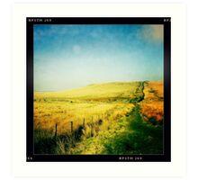 Moorland - The West Pennine Moors Art Print