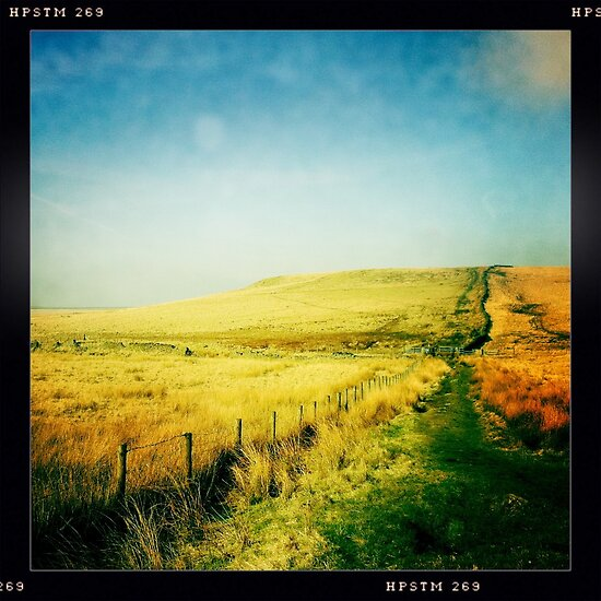Moorland - The West Pennine Moors by GaryDanton