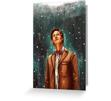 The dreamer of impossible dreams Greeting Card