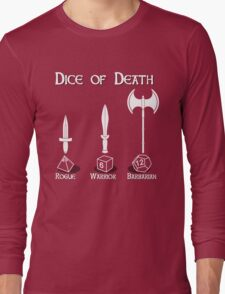 Dice of Death Long Sleeve T-Shirt