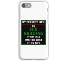 My Perfect Life: Go Ice Skating iPhone Case/Skin