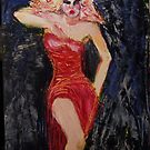 lady of the night, 2011 by Thelma Van Rensburg