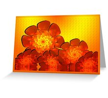 Sizzling Hot Summer Greeting Card