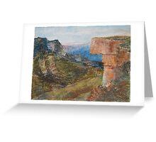 Kanangra-Boyd National Park, Australia Greeting Card