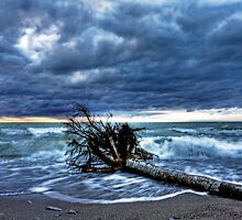 Storm over Lake Huron by Bluesoul Photography