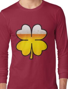 Beer Leaf Clover Long Sleeve T-Shirt