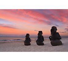 Beach Bouncers Photographic Print