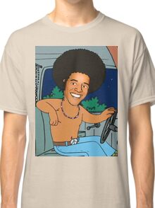 president obama cartoon - from family guy Classic T-Shirt