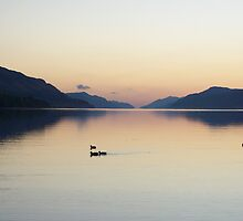 Oh So Still - Loch Ness by caledoniadreamn