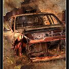Rusty Car by Peter Rattigan