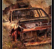 Rusty Car by Peter Rattigan