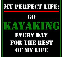 My Perfect Life: Go Kayaking by cmmei