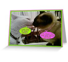 DAISY AND LOUIE Greeting Card