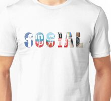 Social networks addicted !! Unisex T-Shirt