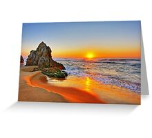 Rays of Serenity Greeting Card