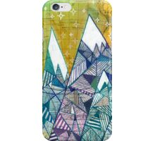 Mountainscape No. 3 iPhone Case/Skin