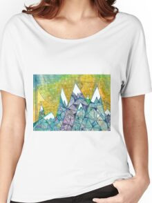 Mountainscape No. 3 Women's Relaxed Fit T-Shirt
