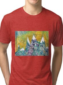 Mountainscape No. 3 Tri-blend T-Shirt