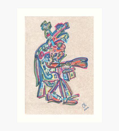 VI C.P. Art Print