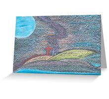 The Road Not Taken or The Road Less Traveled Greeting Card