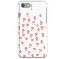 Chicken. Fight Like A Robot! iPhone Case/Skin